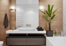 Một số lưu ý phong thủy khi bố trí phòng tắm trong phòng ngủ
