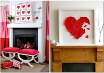 Trang trí nhà lãng mạn chào đón ngày lễ tình nhân