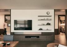 Căn hộ ấm áp sử dụng nhiều nội thất gỗ của cặp vợ chồng trẻ