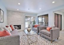 Những phòng khách hút ánh nhìn nhờ khéo léo kết hợp phong cách thiết kế