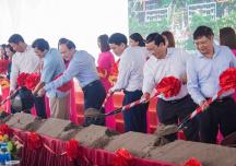 Khởi công dự án nhà xã hội 13 triệu đồng/m2 tại Đông Anh, Hà Nội