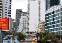 Nha Trang đề nghị tạm dừng xây công trình khách sạn cao tầng