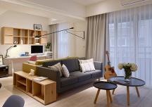 Cải tạo căn hộ 2 phòng ngủ cho cặp đôi mới cưới