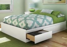 9 mẫu giường thông minh kết hợp nơi trữ đồ cho nhà nhỏ