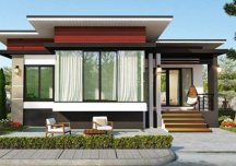 Đi tìm mẫu nhà mái bằng đẹp với chi phí khoảng 900 triệu đồng