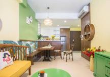Vẻ đẹp bình yên trong căn hộ Sài Gòn