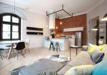 Thăm căn hộ duyên dáng mang phong cách công nghiệp