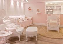 Phòng ngủ siêu dễ thương dành riêng cho cô công chúa nhỏ
