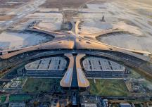 """Kiến trúc """"siêu sân bay"""" lớn nhất thế giới vừa được khánh thành ở Bắc Kinh"""