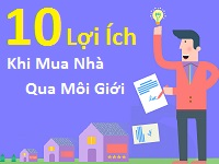 [Infographic] 10 lợi ích khi bán nhà thông qua môi giới
