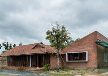 Nhà ba gian kế thừa và phát huy nét kiến trúc nông thôn Nam bộ