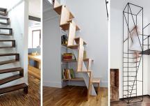 13 mẫu cầu thang độc đáo, tiết kiệm diện tích cho không gian nhỏ