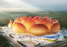 Trung Quốc khởi công sân vận động lớn nhất thế giới