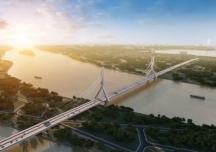 Hà Nội sắp xây cầu Tứ Liên nối quận Tây Hồ với huyện Đông Anh