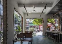Dòng chảy xưa và nay hòa quyện trong quán cà phê giữa lòng phố thị