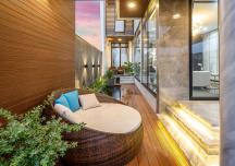 Rời Sài Gòn ra Đà Nẵng, cặp vợ chồng mua đất xây nhà 3 tầng đẹp như resort