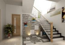 Cầu thang đối diện cửa chính - 5 cách hóa giải đơn giản