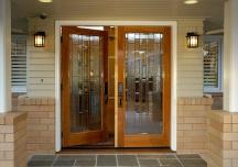 Tư vấn cách chọn kích thước cửa chính đẹp
