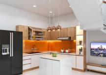 Cách tính kích thước tủ bếp để báo giá thi công