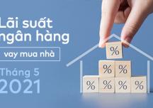 [Cập nhật] Lãi suất ngân hàng vay mua nhà tháng 5/2021