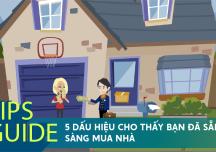 5 dấu hiệu cho thấy bạn đã sẵn sàng mua nhà để an cư