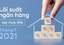 [Cập nhật] Lãi suất ngân hàng vay mua nhà tháng 7/2021
