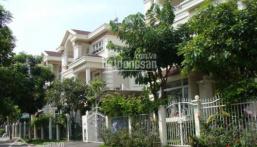 Bán nhanh căn biệt thự Phú Mỹ Hưng, DT 8mx18.5m, nhà đẹp, sổ hồng, LH 0977771919