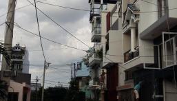 Cần bán dãy nhà trọ đường Phan Huy Ích 6 x 25m, gồm 9 phòng hẻm 6m nhựa thông, LH: 0385999222