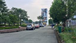 Bán đất KDC Bình Nguyên ĐH Quốc Gia HCM, TP. Dĩ An, 100m2, đối diện công viên