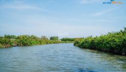 Bán lô đất ngay chân cầu cửa Đại Quảng Ngãi, hỗ trợ vay 50%