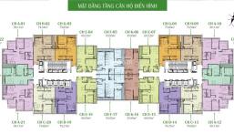 Bán lỗ 2PN, căn 1520 DT 78m2 - BC ĐN, CC Eco Dream, giá 2 tỷ (BT), chính chủ 0961.958.301