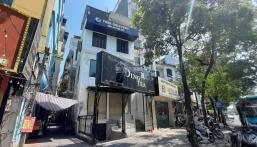 Cho thuê nhà 148 Trần Duy Hưng DT 100m2 x 3T + hầm. Mặt tiền ~ 7m, giá 60tr/th, LH 0904090102