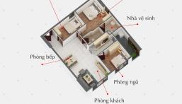 Căn Hộ 2PN 56m2 View thoáng mát, sắp ra mắt