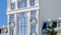 Chính chủ cần bán tòa nhà 9 tầng nhà MP Trần Thái Tông - Dịch Vọng Hậu. DTMB: 186m2, MT: 10m