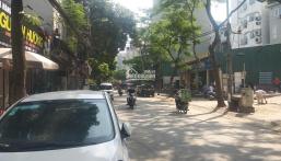 Bán mảnh đất ở lâu dài 550m2 xây văn phòng mặt tiền 16m, phố Dịch Vọng Hậu 0962568365