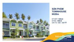 Nhận Booking nhà phố có cam kết mua lại 13%/năm, DT 6X20, giá 4,6 tỷ 0938008270