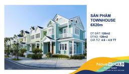 Nhận booking nhà phố 6x20, thanh toán 1%/tháng, giá 4,6 tỷ 0938008270