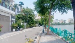 Bán đất phố Trích Sài, Tây Hồ, ô tô tránh 125m, mặt tiền 7.1m, $ 16 tỷ.