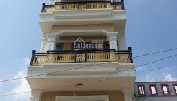 Bán nhà  1Trệt Lững 3 lầu (5x13m) giá 5.2 tỷ (TL),  đường  8m,  Nguyễn Anh Thủ, P. HT, Q12 LH: 0933