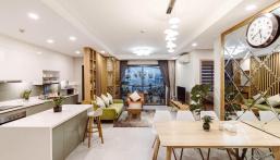 Cho thuê căn hộ Hà Đô, 65m2, 2pn, giá 10 triệu, LH 0909.268.062