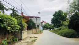 Cửa Ngõ Tân Xã  thuộc khu vực Công Nghệ Cao Hòa Lạc 243m full thổ cư,nằm khu vực trung tâm nhất