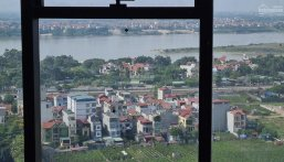Chung cư Sunshine City bán căn góc 116.7m2 4.19 tỷ view Sông Hồng cầu Nhật Tân, ban công Đông Nam