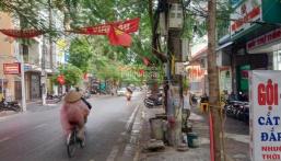 Bán nhà mặt đường 6 tầng Cát Dài - Vị trí đẹp gần bv Việt Tiệp - Đang kinh doanh cực sầm uất