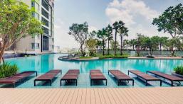Đón xuân tân sửu sở hữu ngay căn duplex 2PN với diện tích 96m2, view hồ bơi, đã có sổ, giá 4.3 tỷ
