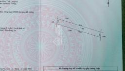 Bán lô đất 210m2 xã Hoà Khánh Đông, giá 299 triệu, sổ hồng riêng đàng hoàng, hợp đầu tư để dành