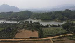 Bán đất tại Sào Bảy, Kim Bôi, Hòa Bình. Bám mặt hồ hơn 200m. Sổ đỏ đầy đủ, không dính quy hoạch.