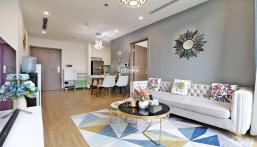 Cho thuê căn hộ chung cư C6 Vinhomes Dcapitale- TDH. dt 100m2. 3N sáng. đủ đồ mới. 21tr/tháng.đang