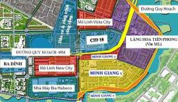 Bán suất ngoại giao biệt thự đơn lập đường 27m dự án Mê Linh Vista. Lh: 0868 754 896
