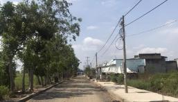 Cuối năm kẹt tiền bán lô đất KDC Phước Đông, Cần Đước giá rẻ,mặt tiền QL 50, SHR giá 630tr.