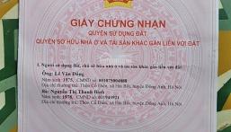 Chính chủ cần bán căn hộ tập thể khu vực Thành Công. LHCC : Chị Lương _ 0983108186.